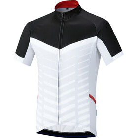 Shimano Climbers Maillot manches courtes Homme, white